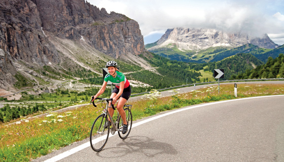 Dolomites Biking Tour